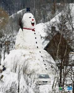 Giant Snowman - 3wt