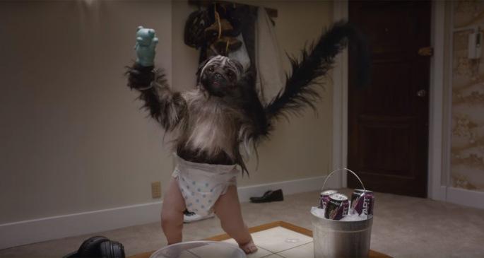 Puppy Monkey Baby