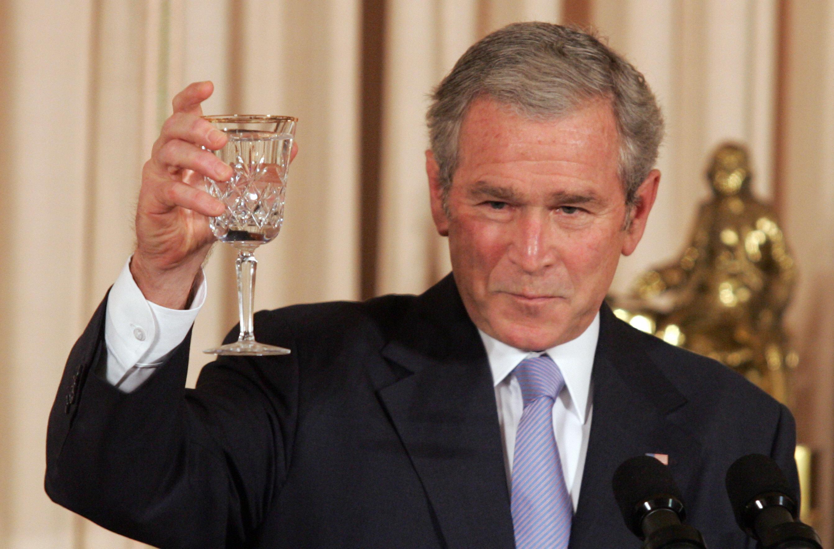 George W Bush Toast Earlthepearl137