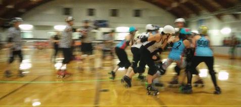 Roller Derby Action
