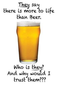 There is more to life than beer