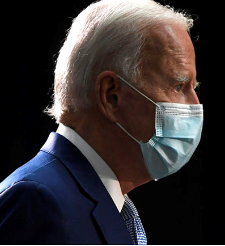 Joe Biden with Mask