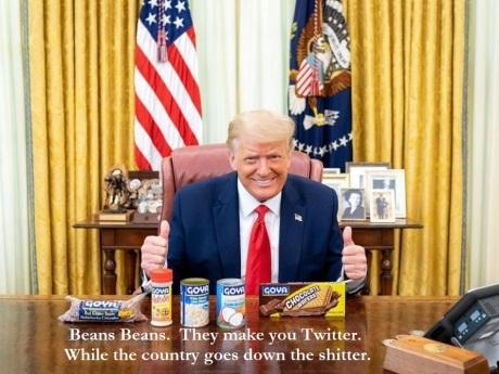 Trump - Goya Beans